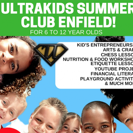 Enfield Kid's Entrepreneurship Summer Camp (Weekly Booking)